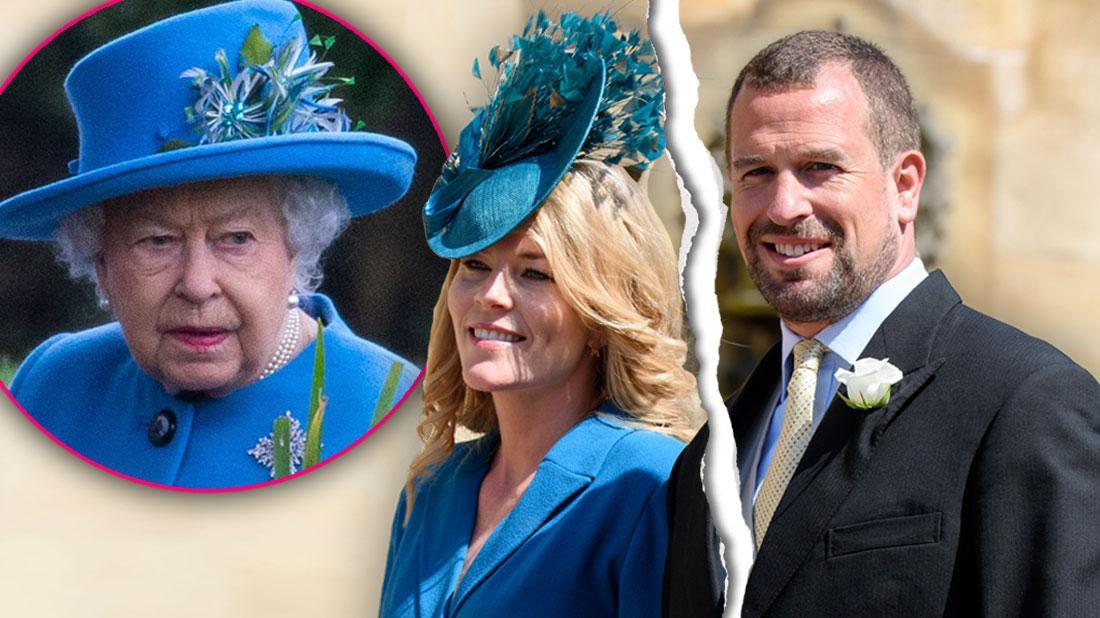 Queen Elizabeth's Grandson Peter Phillip Divorcing Wife Of 11 Years