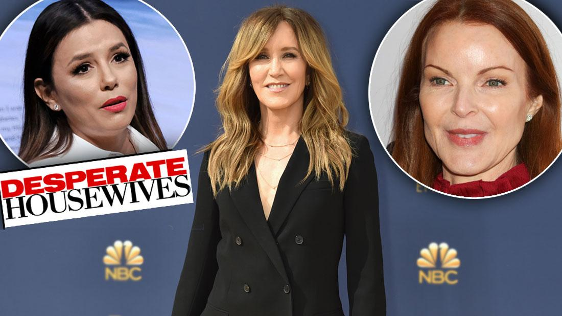 Desperate Housewives' Cast Lose Royalties After College Scam