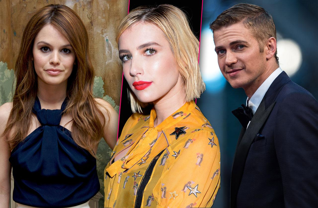 Emma Roberts Rachel Bilson Hayden Christensen Split