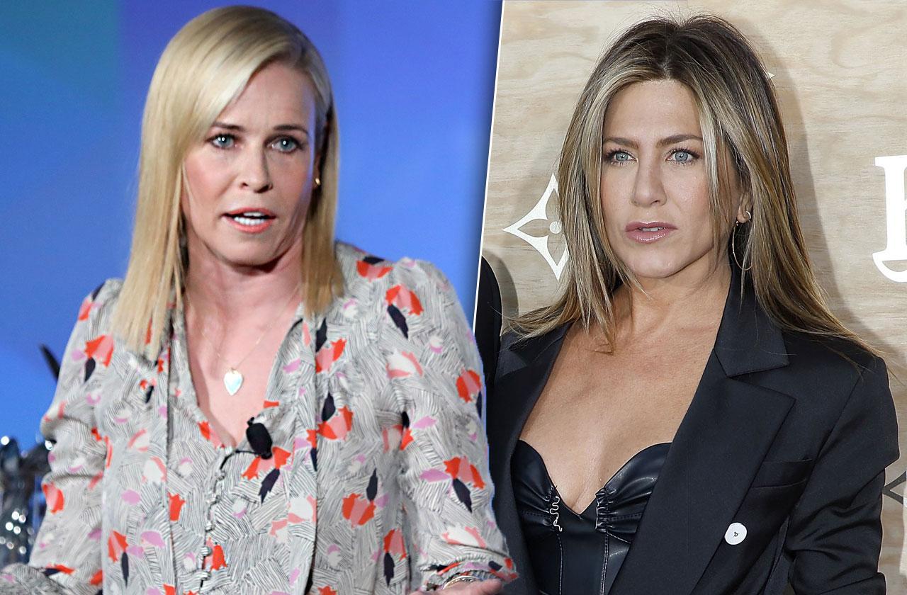 //Jennifer Aniston Chelsea Hanlder Feud Split Reason pp