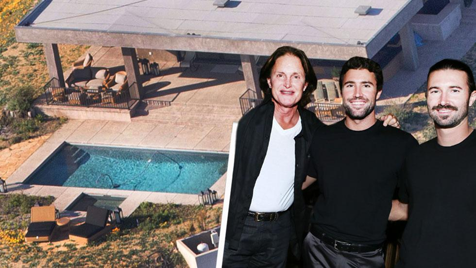 Jenner Living As A Woman In New Malibu Mansion With Sons Brandon & Brody