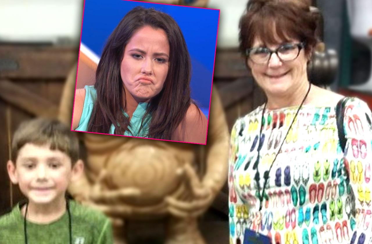 //jenelle evans banned son birthday party pp