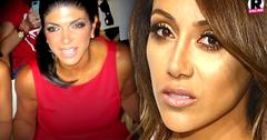 Melissa Gorga Filming Real Housewives New Jersey Boutique Teresa Giudice Work