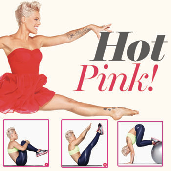 //pink abs shape magazine