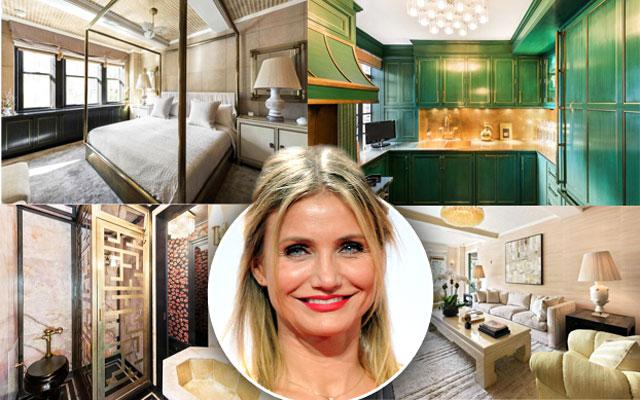 Cameron Diaz Lists West Village Apartment 4.25 Million Dollars