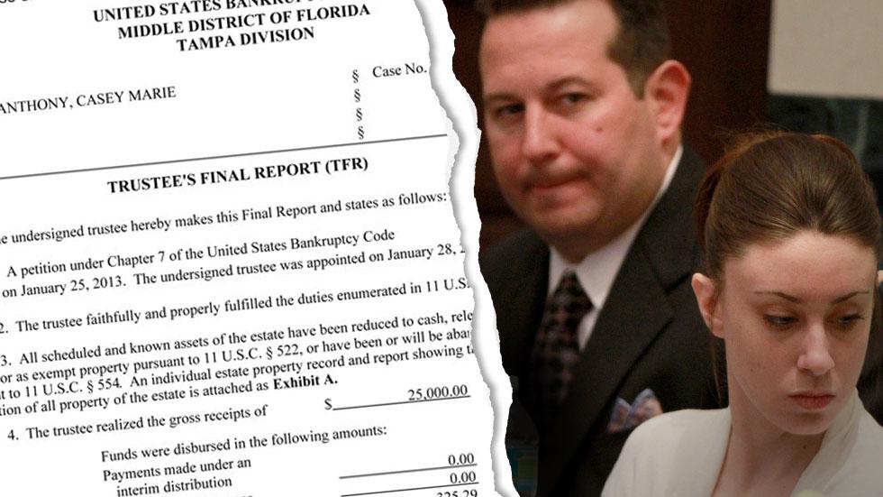 Casey Anthony Bankruptcy Jose Baez
