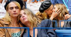 Cara Delevingne & Girlfriend Ashley Benson Kiss On Us Open Date