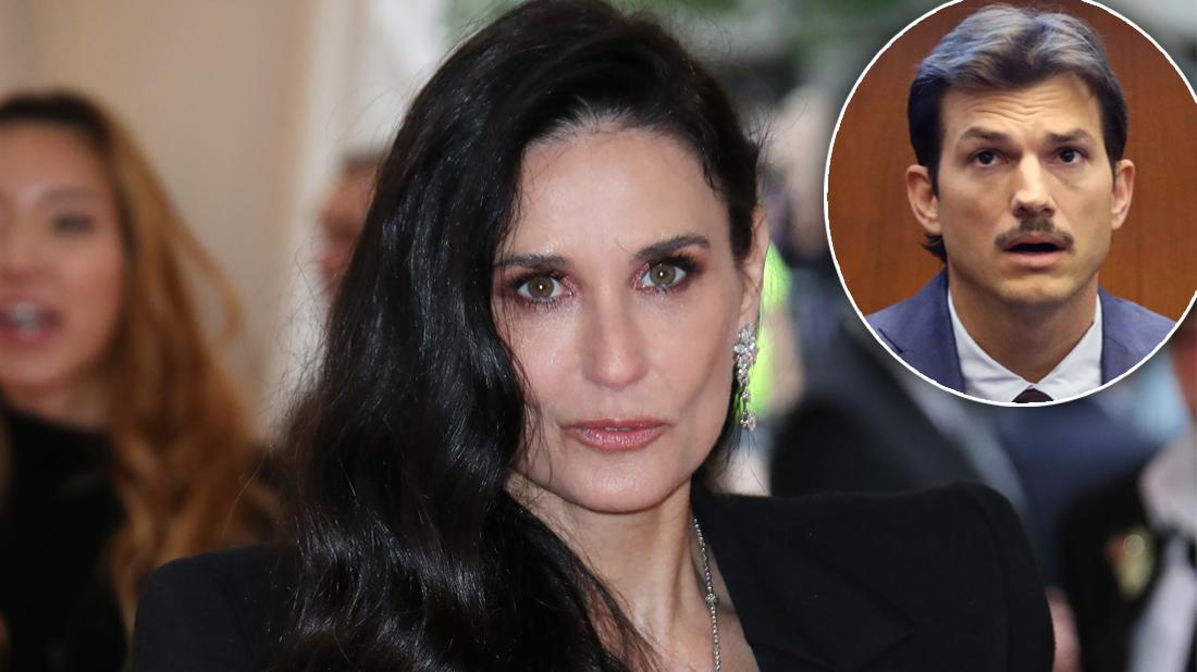 Demi Moore Claims Ashton Kutcher Pushed Her To Relapse In New Memoir