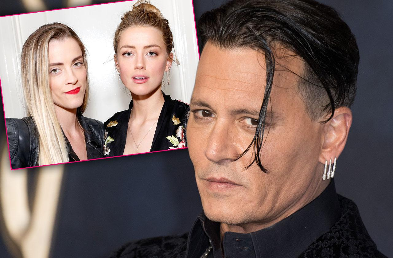 johnny depp claims amber heard framed him with help from sister