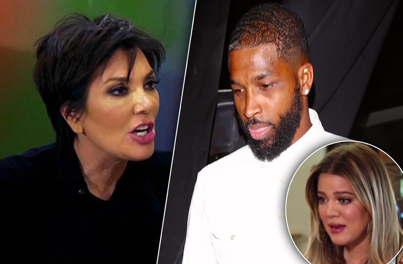 Kris Jenner Confronts Tristan Thompson KUWTK Video