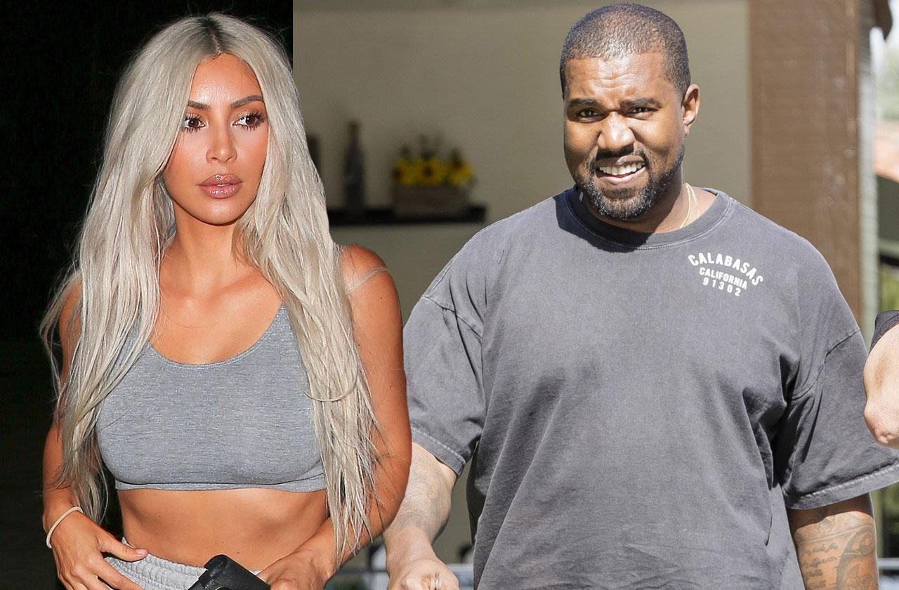 //kanye west chunky rapper weight gain sex life wife kim kardashian pp