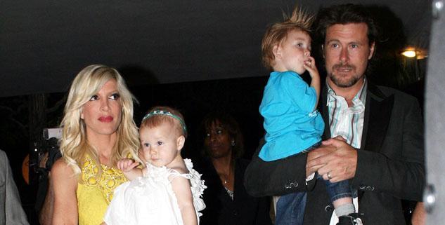 Tori Spelling, husband Dean friends boycott children party