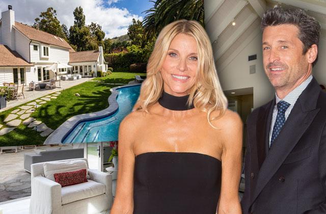 Patrick Dempsey Wife Jillian Divorce Malibu Mansion