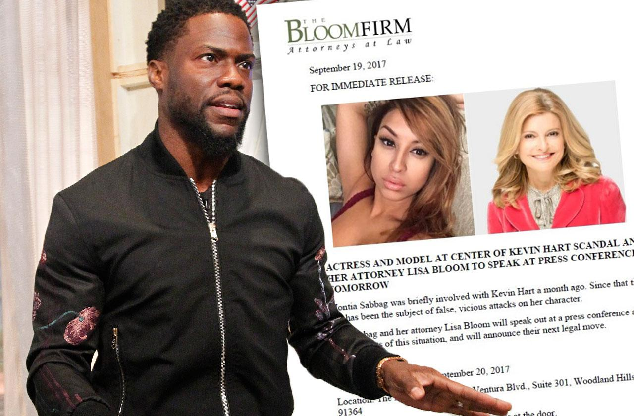 //kevin hart cheating scandal woman lisa bloom lawyer pp
