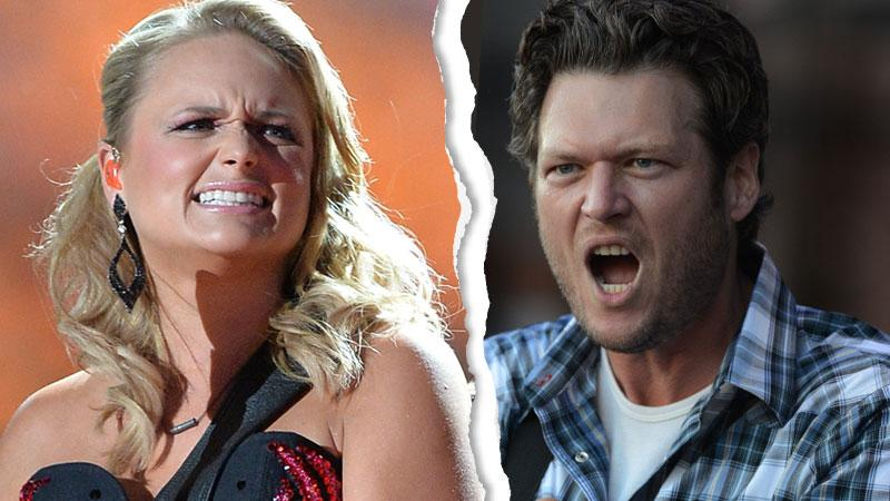 Blake Shelton Miranda Lambert Divorce Cheating
