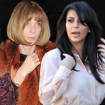 Kim Kardashian, Anna Wintour