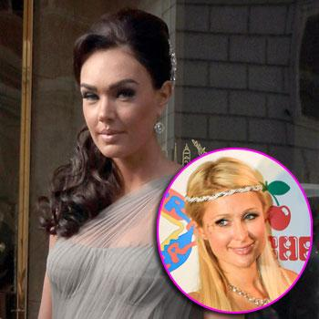 //tamara ecclestone paris hilton reality tv getty splash