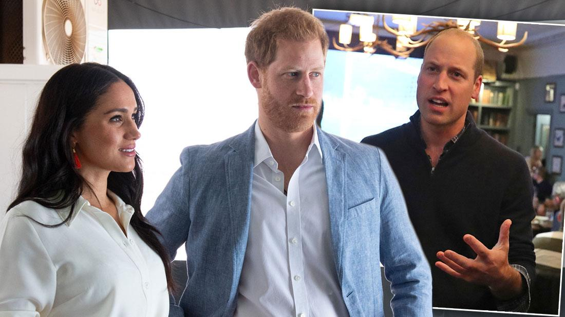 Prince William Furious Over Prince Harry & Meghan Markle Interview