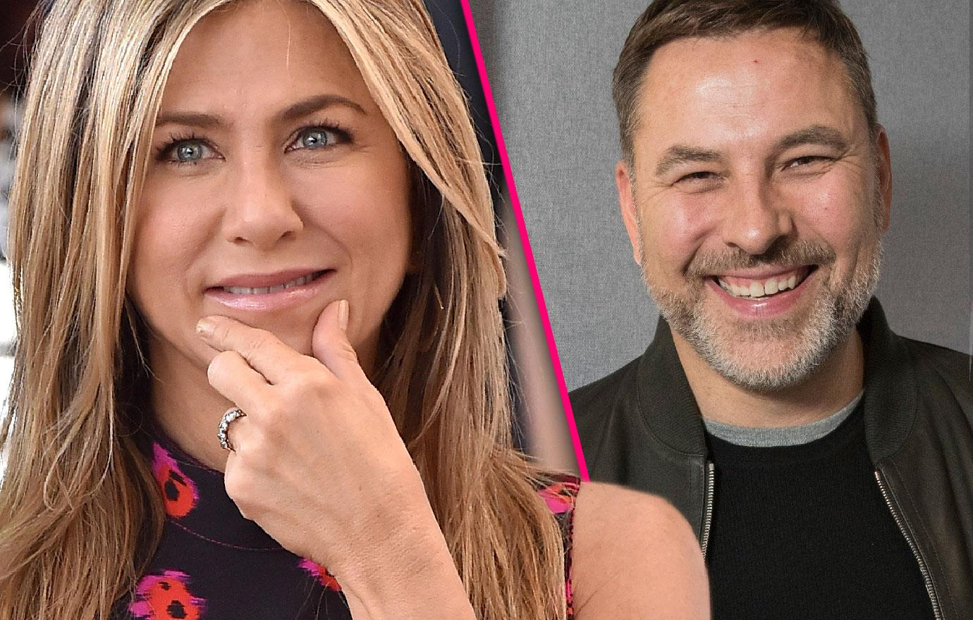 David Walliams Calls Jennifer Aniston Lovely And Charming