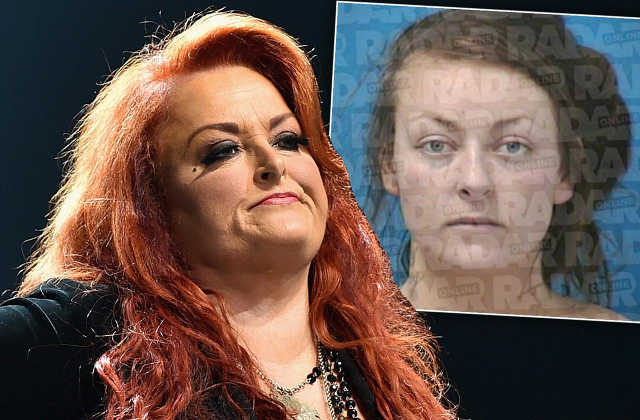wynonna judd daughter grace pauline kelley mugshot breaking probation arrest