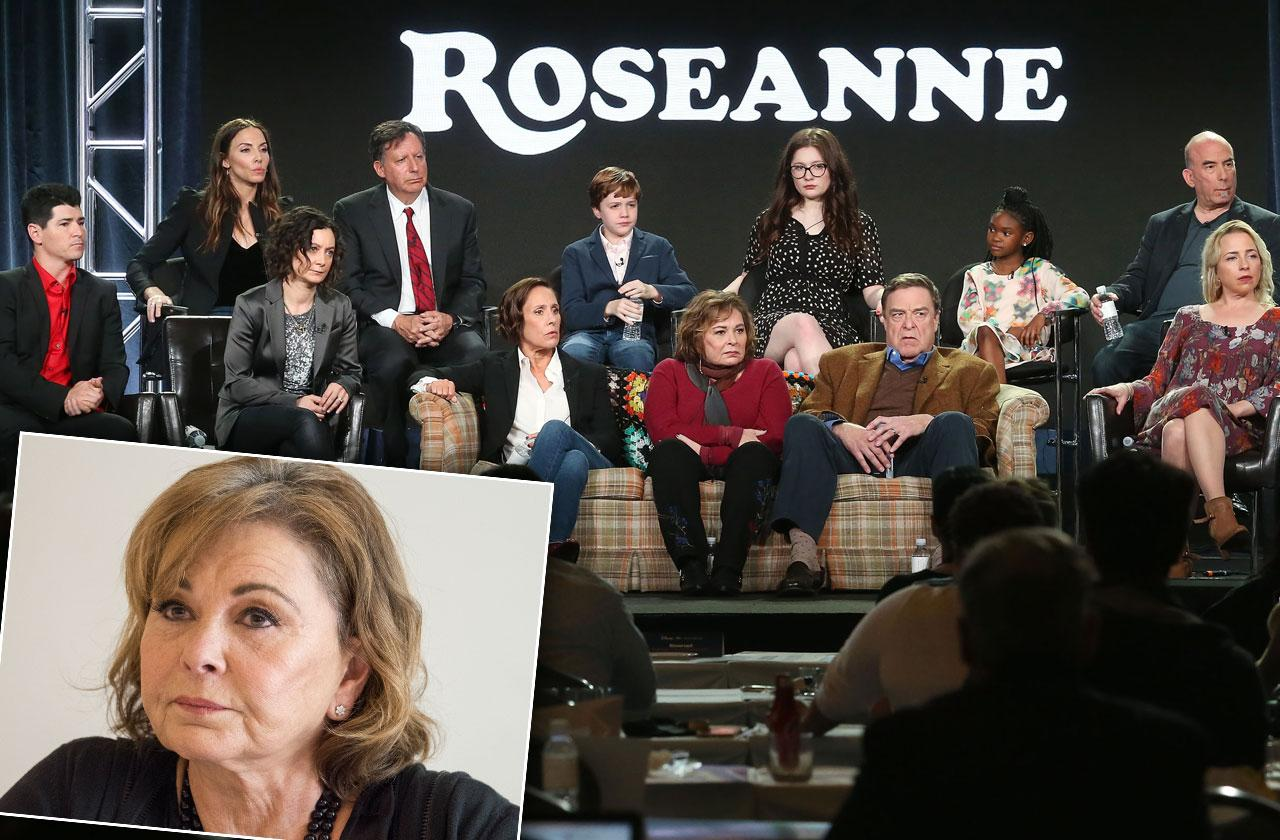 Roseanne Barr Racist Cast Meeting Spinoff
