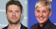 RadarOnline: Ryan Philippe Throws Shade At Ellen DeGeneres Amid Rumors The TV Host Is Mean