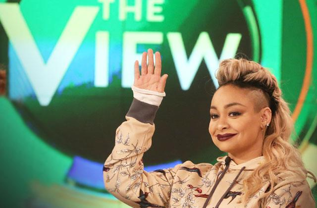 raven symone leaving the view