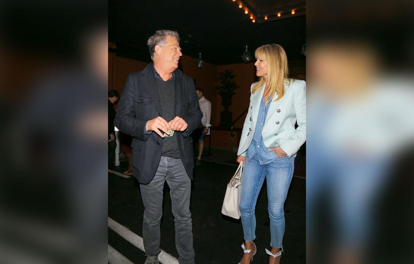 [PICS] Christie Brinkley David Foster Dating Blazer Jeans