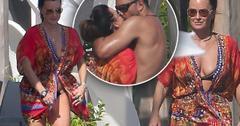 //kyle richards bikini husband kissing mexico pp