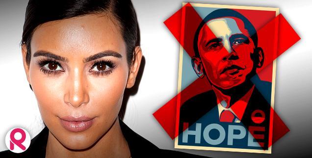 //kim kardashian barack obama stay away campaign political poison wide