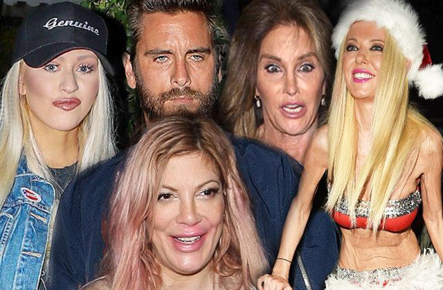 hot mess celebrities sloppiest stars drunk