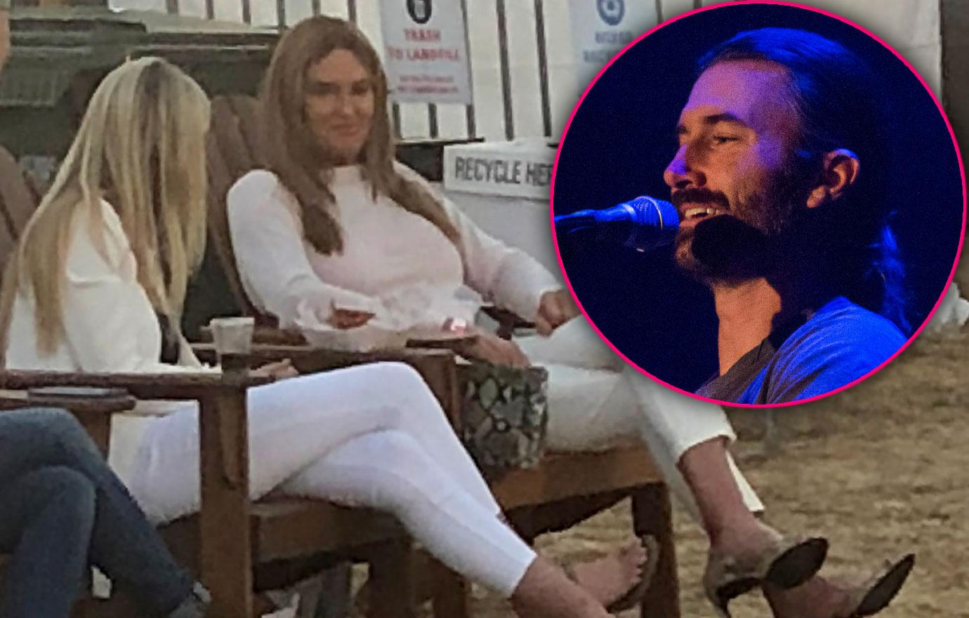Caitlyn Jenner And Sophia Hutchins Watch Brandon Perform At Chili Cook-Off