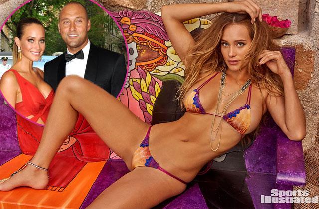 Derek Jeter Hannah Davis Jeter Pregnant Bikini