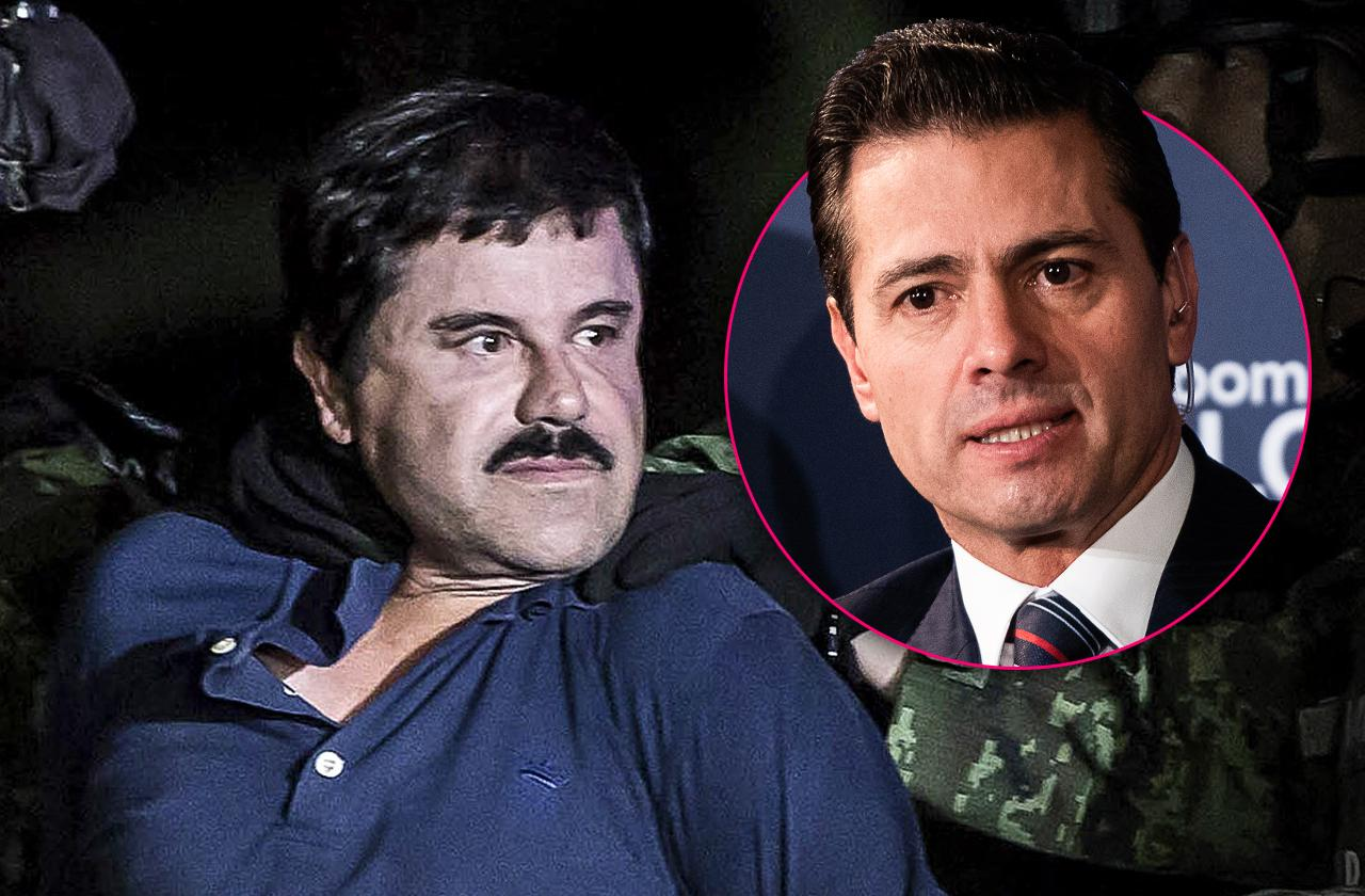 former mexican president accepted hundred million dollar offer from el chapo witness claims
