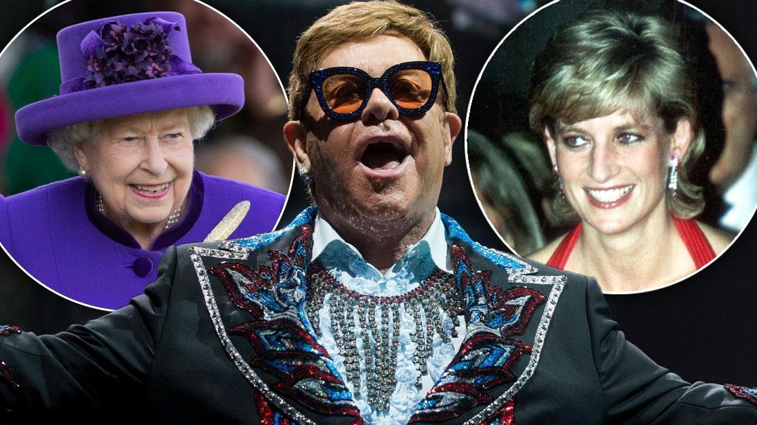 Elton John Memoir: He Saw Queen Elizabeth Playfully Slap Nephew