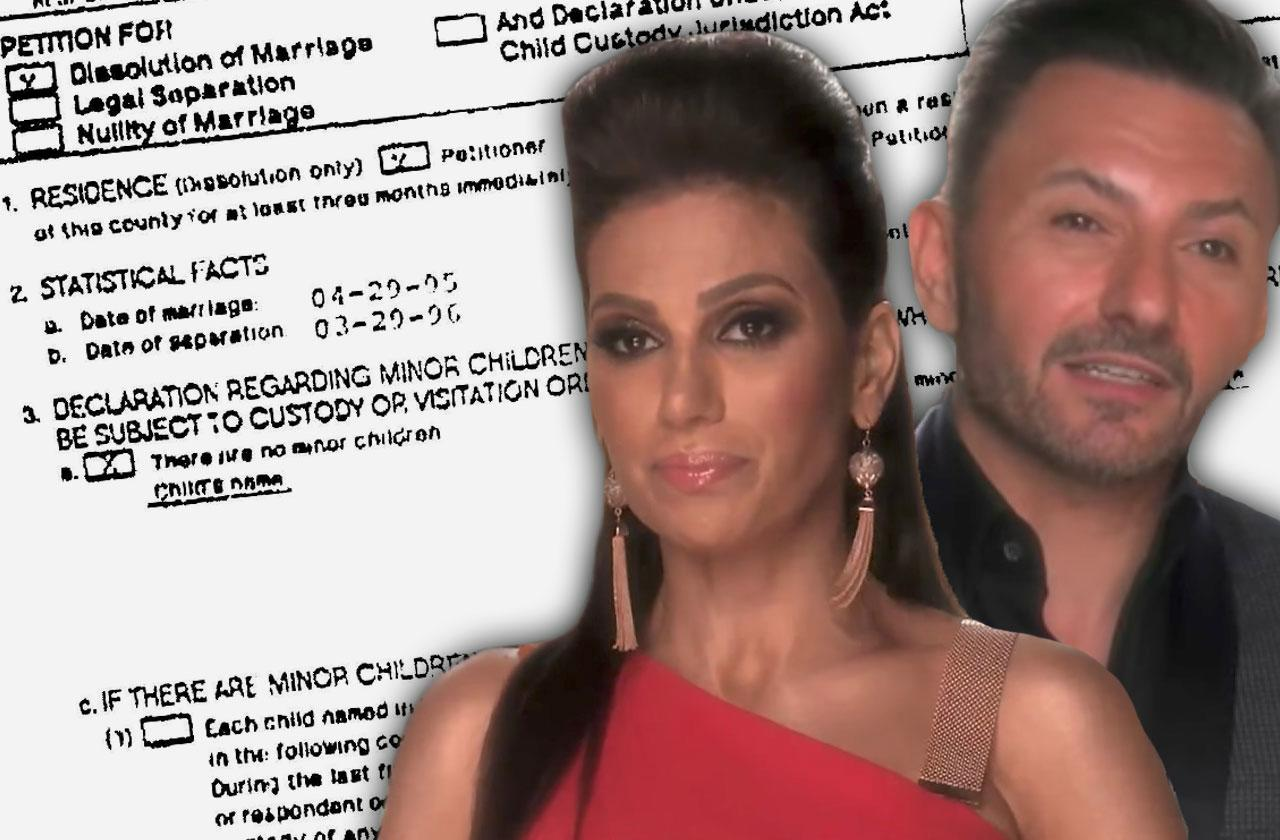 RHOC Peggy Sulahian Diko Sulahian Divorce