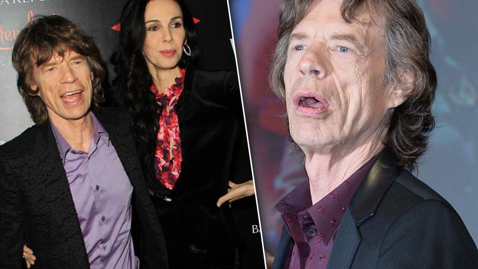 //mick jagger and lwren scott