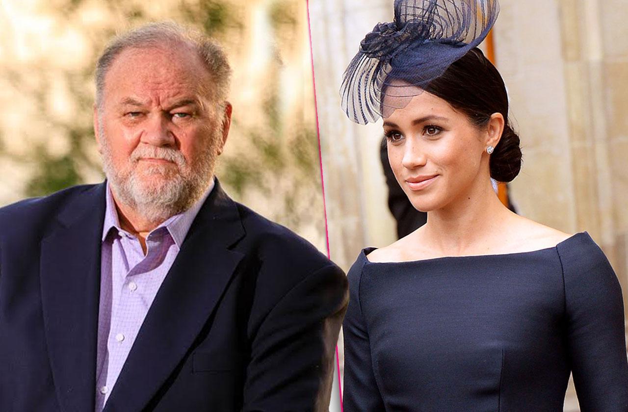 //queen elizabeth ban meghan markle father thomas royal life pp
