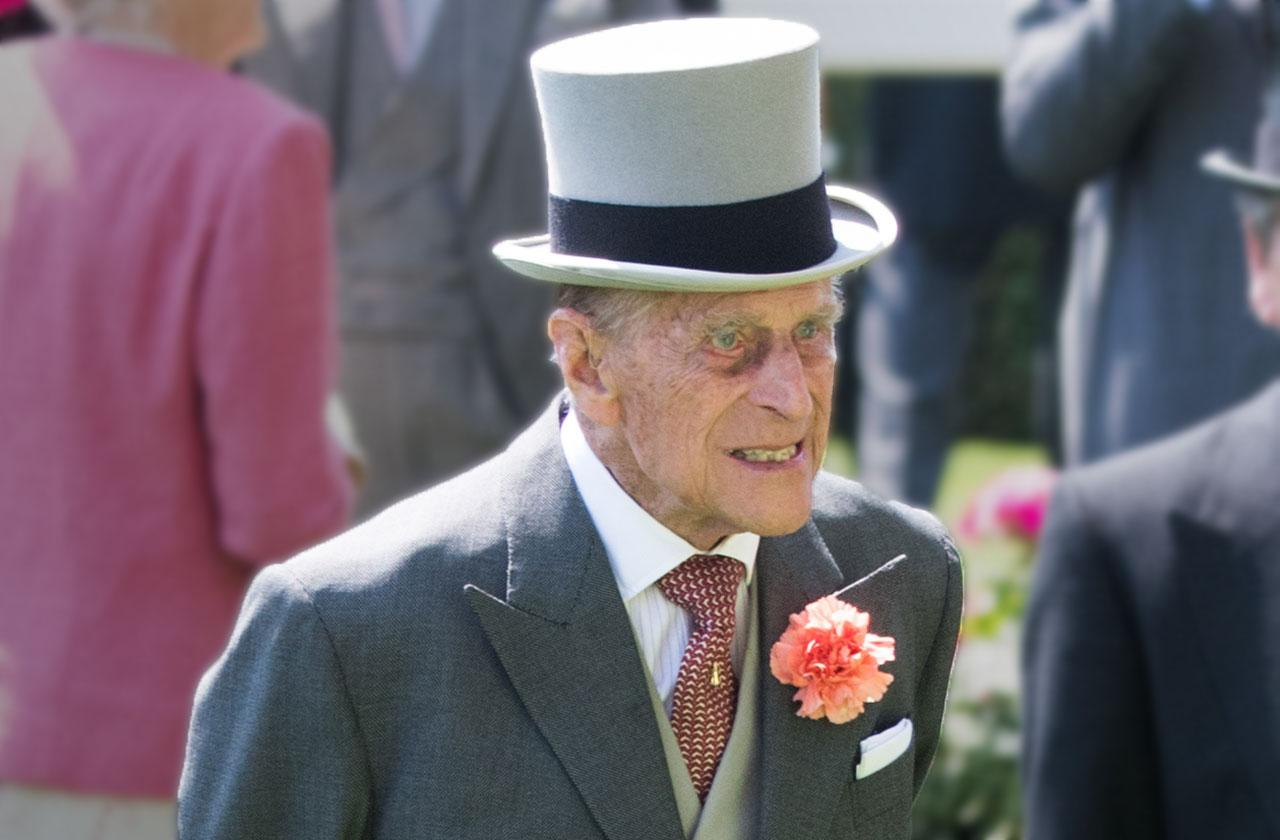 prince Philip hospitalized 96 with infection
