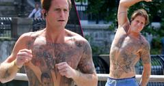//Cameron douglas tattoos shirtless nyc pp
