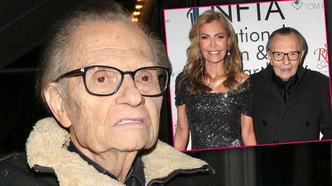 Larry King's Family Hope Divorce Is Final 'Before He Dies'