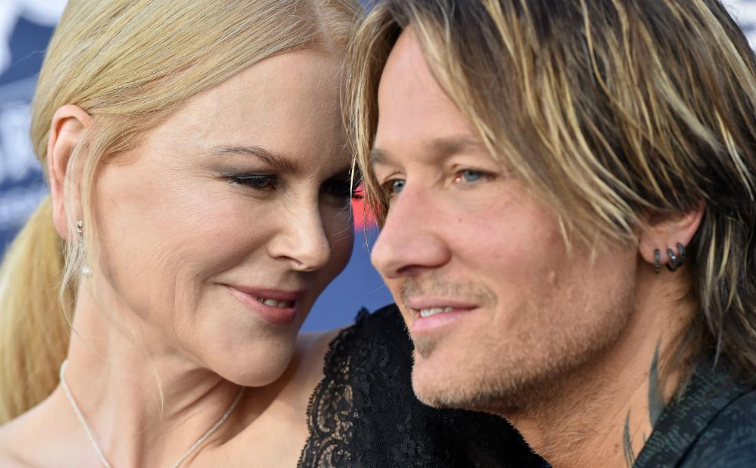 Nicole Kidman and Keith Urban attended the 54th Academy of Country Music Awards at MGM Grand Garden Arena on April 07, 2019 in Las Vegas, Nevada.