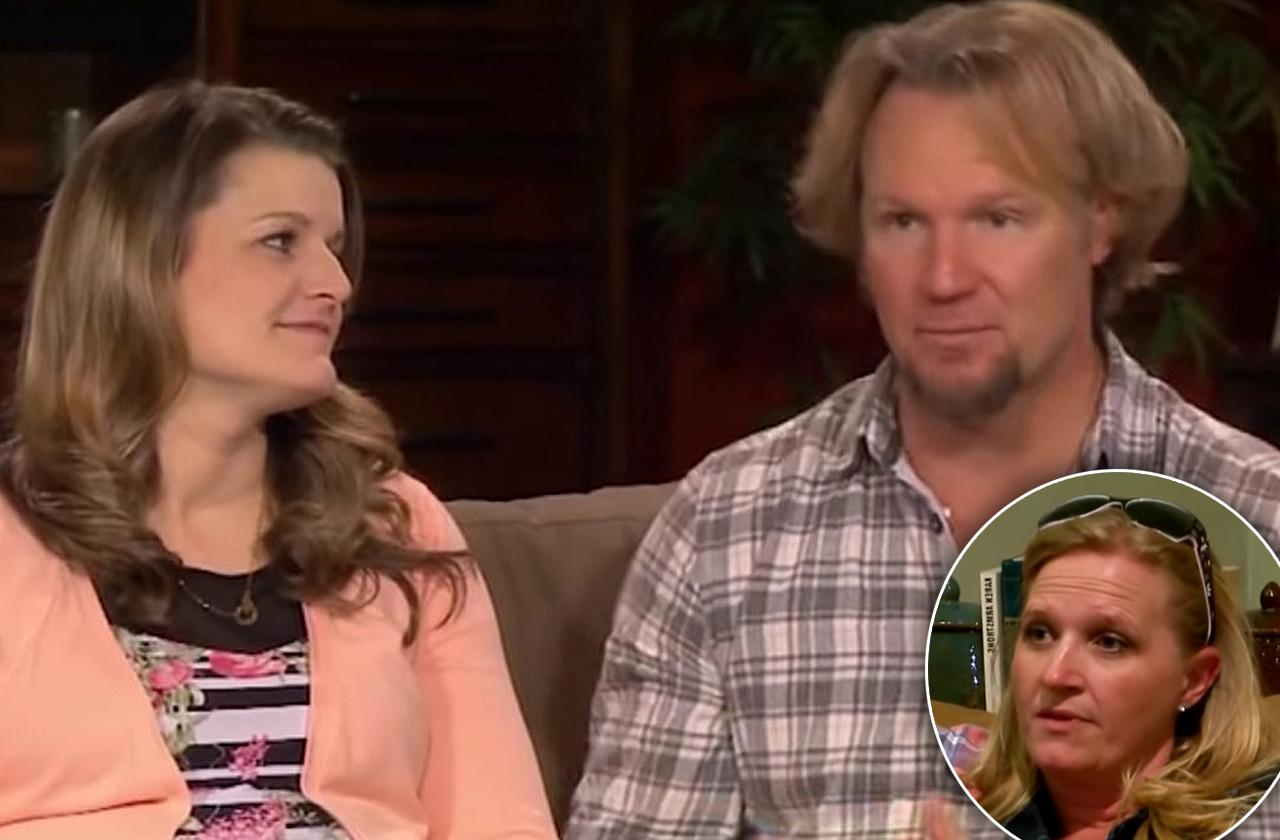 sister wives feud Christine brown jealous kody robyn pregnancy