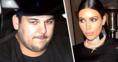 Rob Kardashian Not Visited Kim Baby