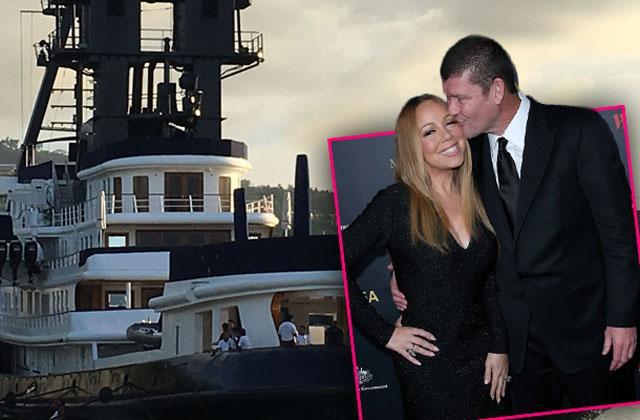 Mariah Carey James Packer Wedding Plans Yacht