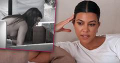 Kourtney Kardashian Upset Robbery Investigation 'Ongoing' Crime Scene Looking Worried