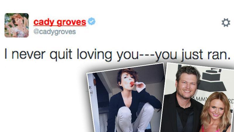 //blake shelton miranda lambert divorce cheating cady groves pp