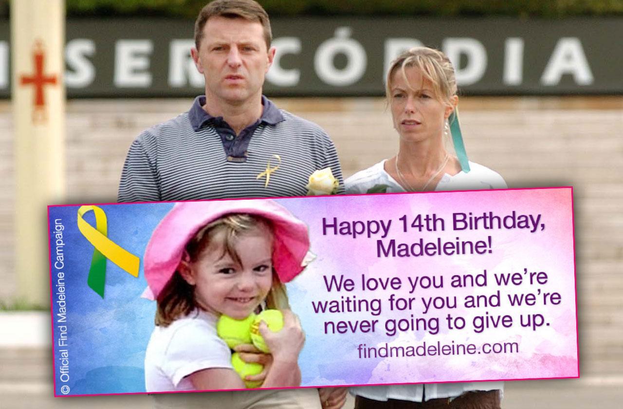 Madeleine McCann Missing Parents Birthday Message