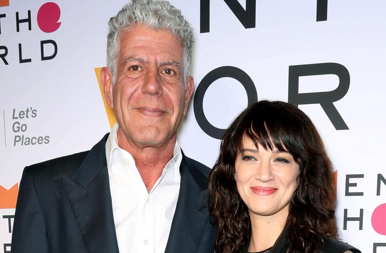 //asia argento leaves rome for anthony bourdain funeral PP