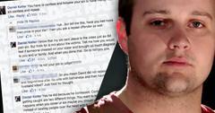 Anna Duggar Brother Slams Cheater Josh Duggar Comments Deleted